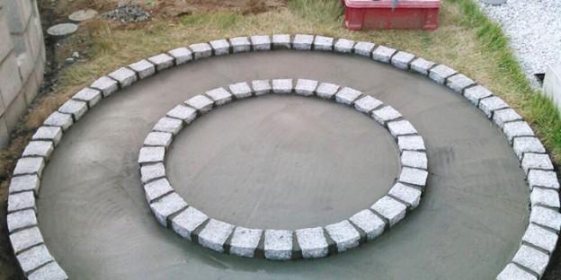 円形テラス