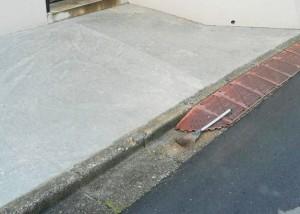 コンクリート補修工事後
