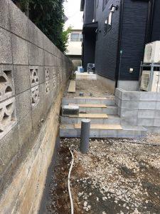 ブロック積み・階段