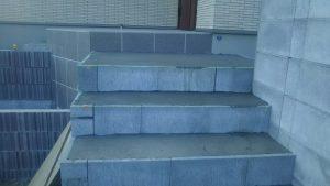 階段土間打ち