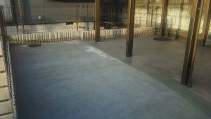 車庫土間完成