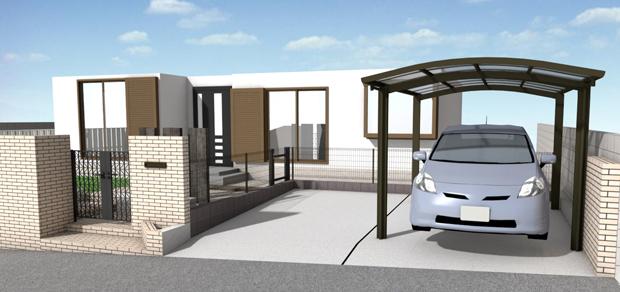 駐車スペース拡張リフォーム